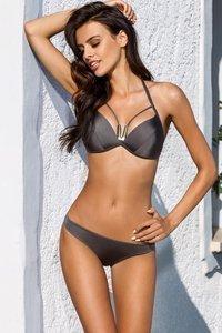 937e0eecbd04bd Lorin L2125/7 Bikini Set Dame Bademode musterlos versteift Neckholder