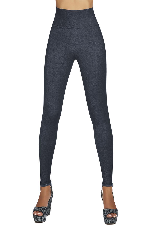 Hosen Leggings Blair Bas Hoher Figurformend Dame Shapewear Lang Bleu qIS7Wfwg7F