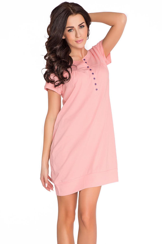 a629d407a11430 Dn-nightwear TM.5009 Rosa | Nachtwäsche \ Nachtwäsche für Schwangere ...