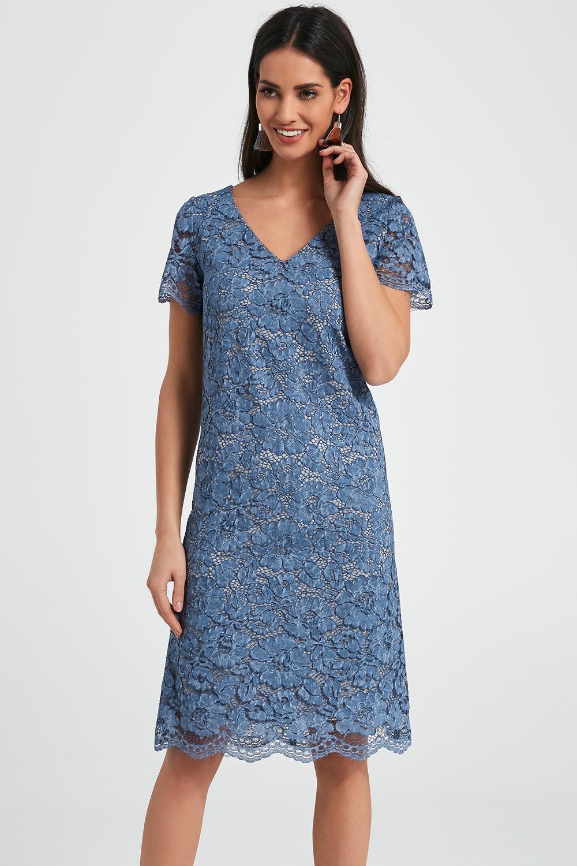 Ennywear 250049 Dame Kleid Cocktail Kleid aus Spitze
