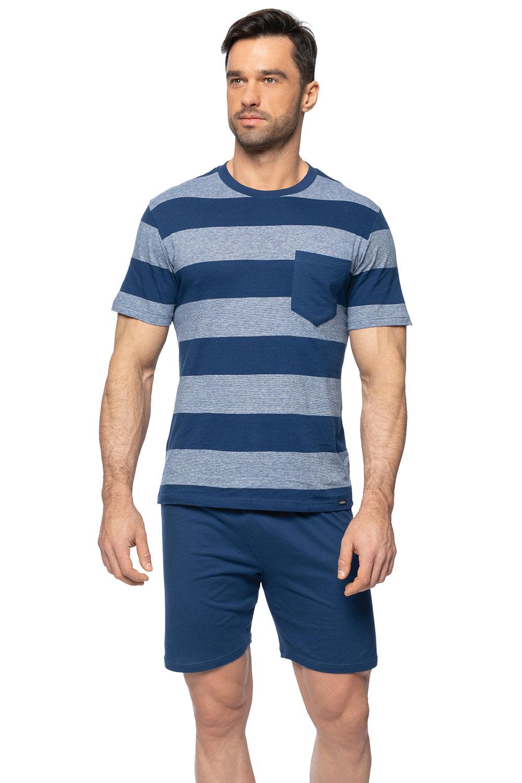competitive price 79502 c9afc Rossli Herren Pyjama Schlafanzug 2teilig kurzarm SAM-PY-150