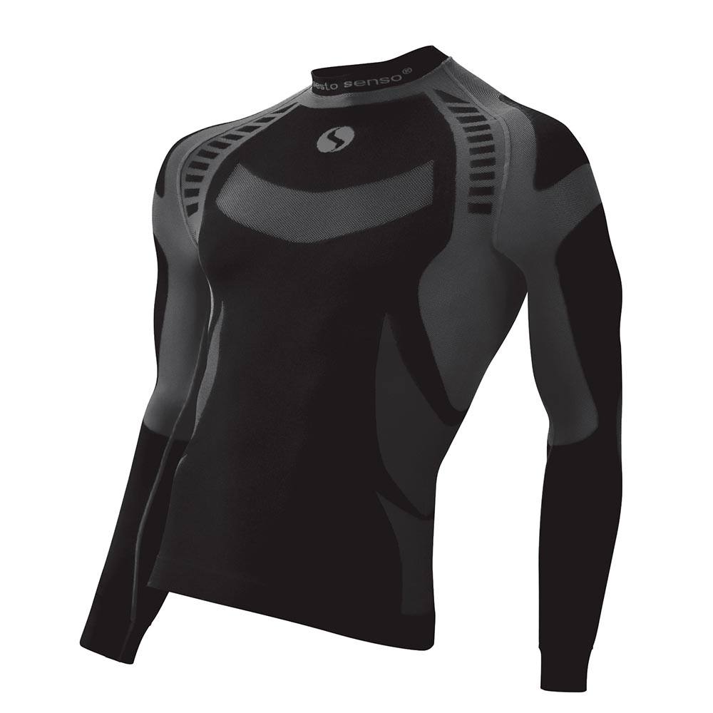 competitive price 84f37 a6764 Sesto Senso Herren Bluse langarm gemustert Thermo Active Men