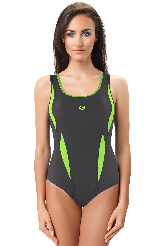 on sale d46e4 5b446 gWINNER Aqua II Badeanzug für Damen Rundhals feste Träger einteilig Top  Qualität