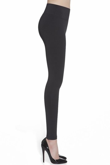Bas Bleu Candy Leggings Damen Push-Up Effekt figurformend blickdicht lang