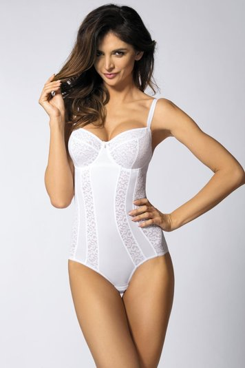 Gorteks Marilyn/Bo Body Damen Dessous gemustert Soft Cups regulierbar